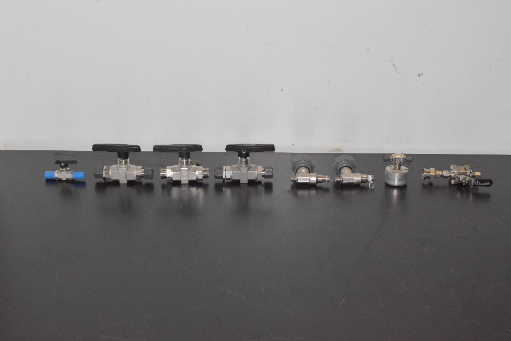 Lot of (8) Fittings