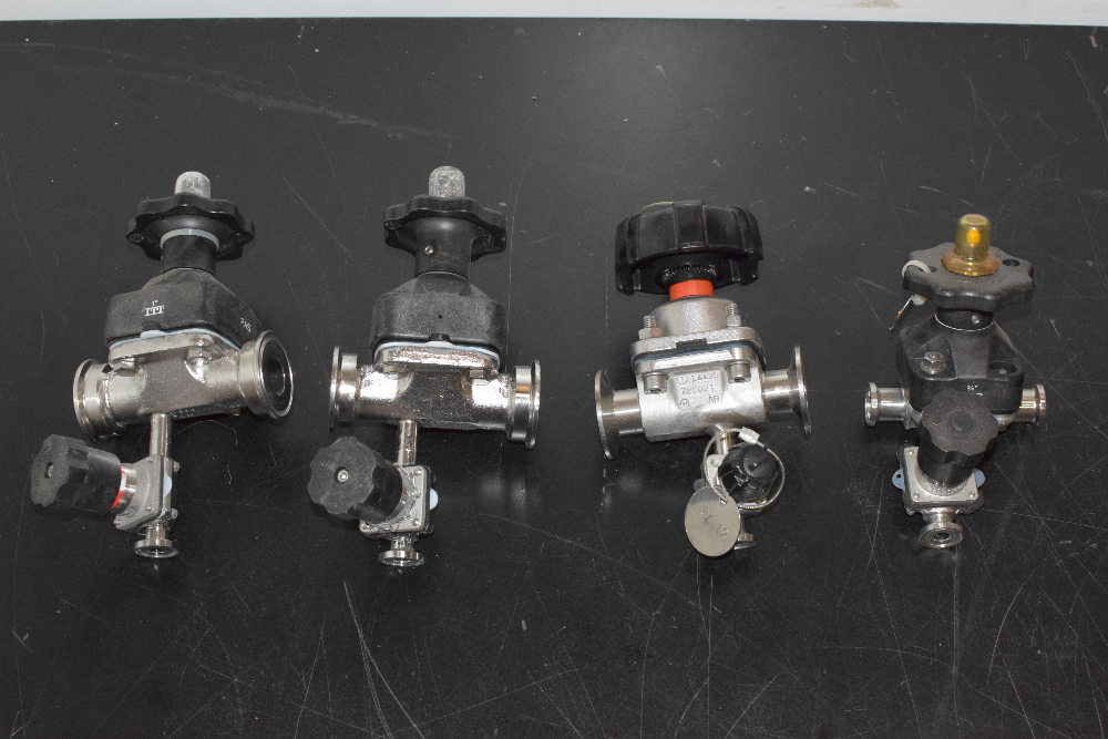Lot of (4) Valves