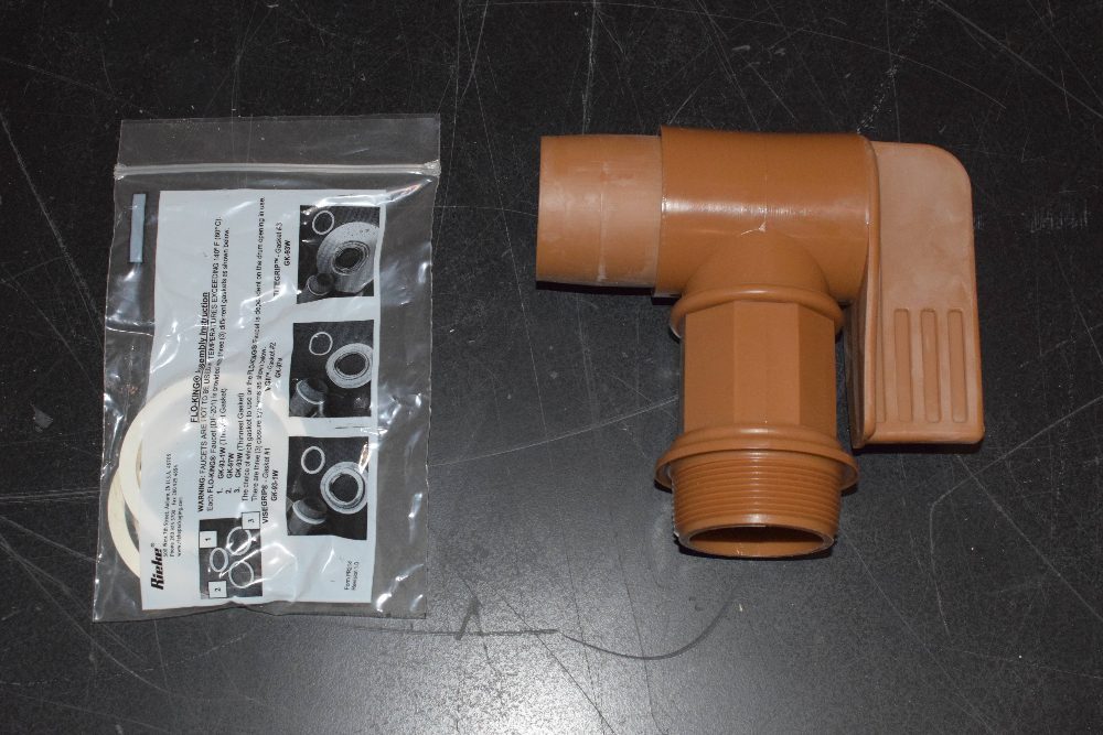 Lot of (4) Flo-King Plastic Faucets