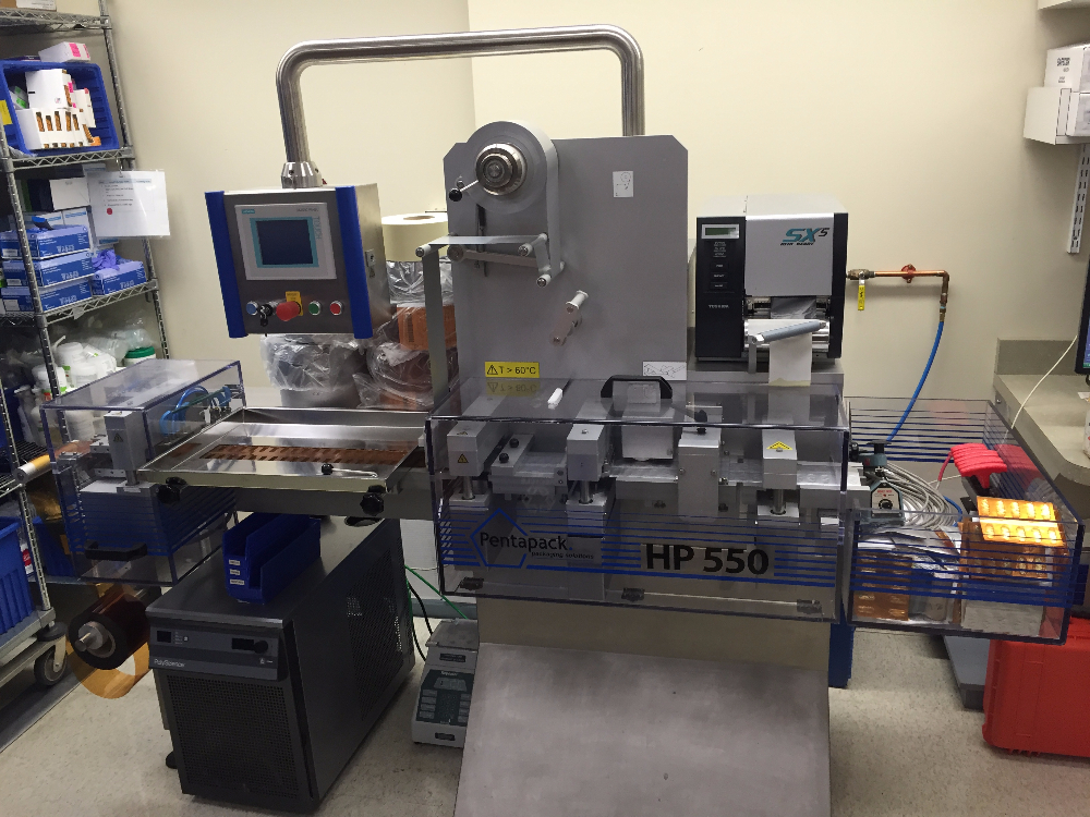 Pentapack HP 550 Blister Machine