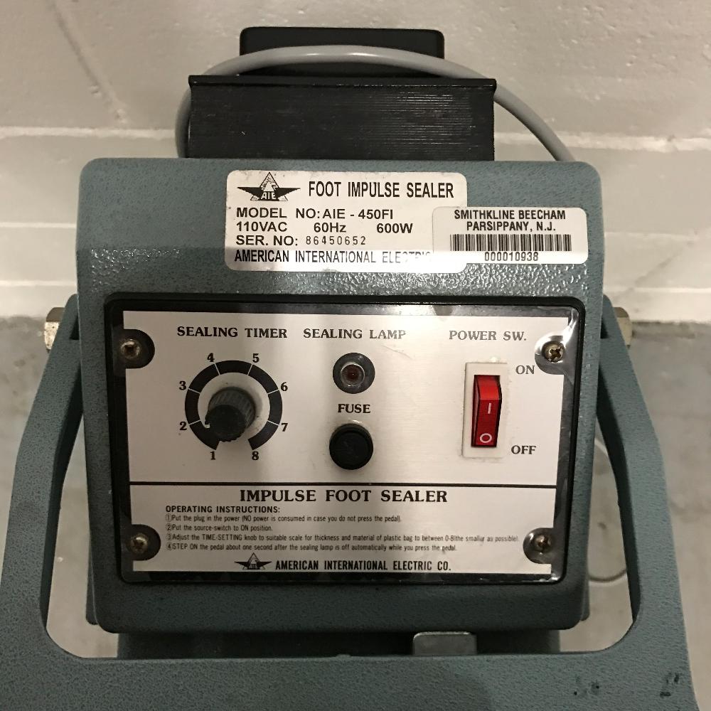American International AIE-450FI Impulse Sealer