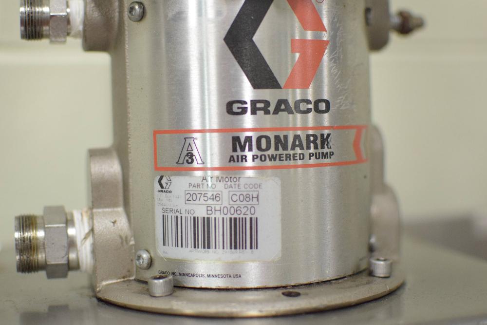 Graco Monark Pneumatic Pump Skid