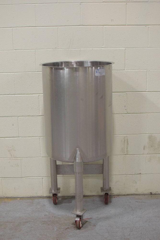 G&F Manufacturing model 50 gal Non-Jacketed Tank