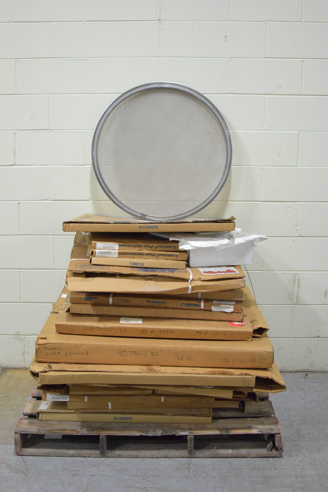 Lot of Sweco Supertaut Plus Replacement Screens