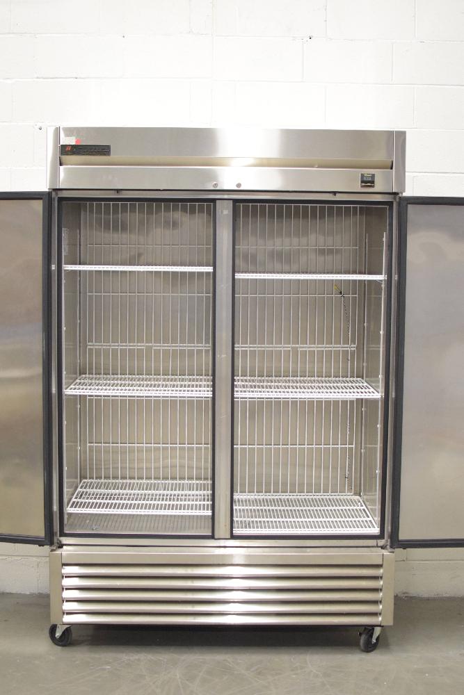 True TS-49F Double Door Freezer