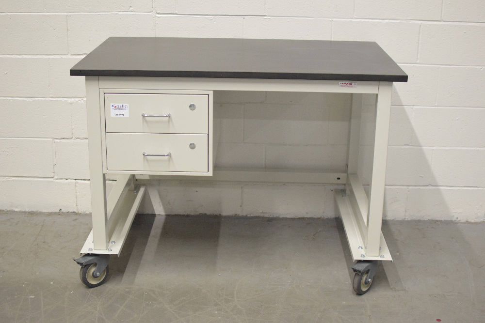4 Ft Lab Table on Wheels