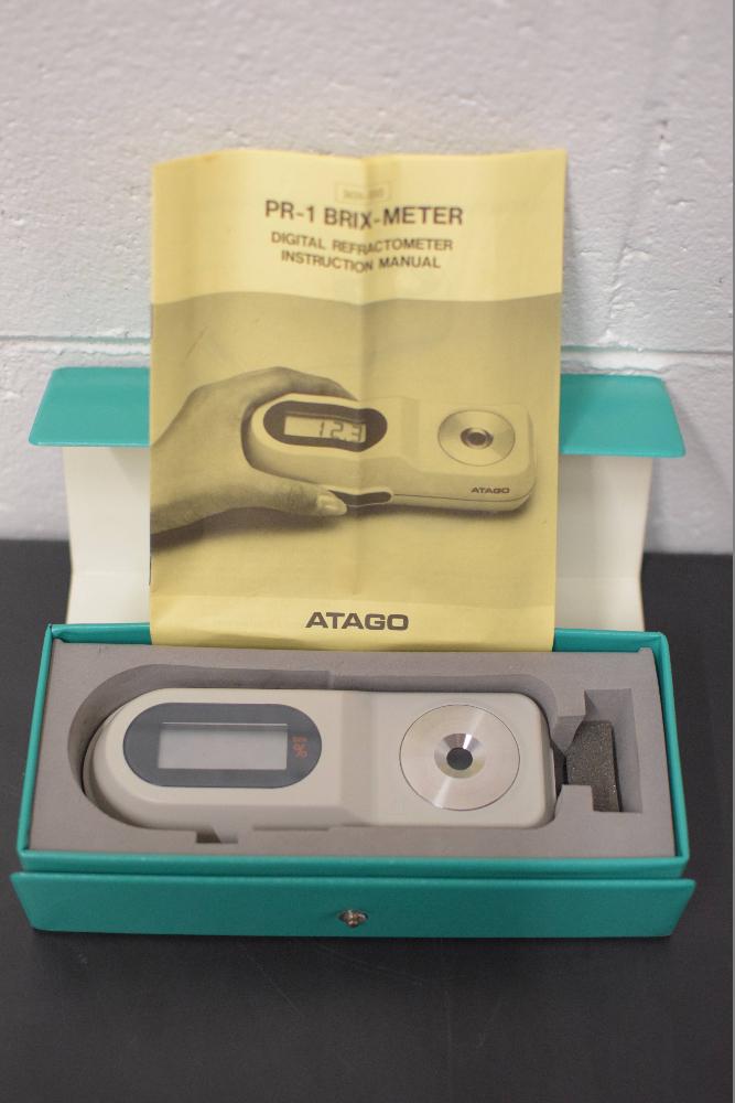 Atago PR-1 Brix-Meter Digital Refractometer