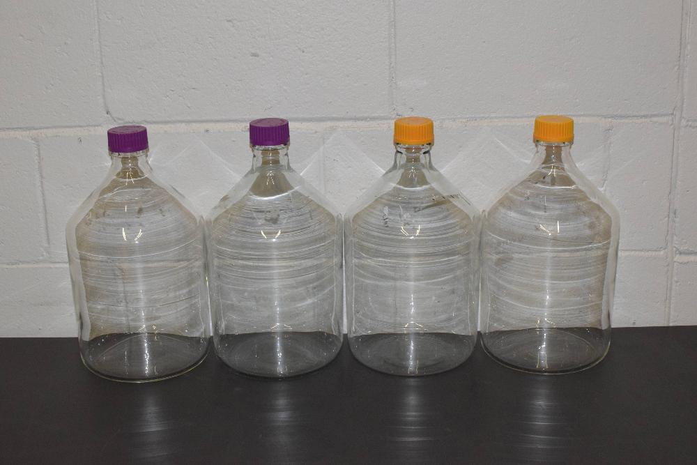Lot of (4) VWR 5000ml Bottles