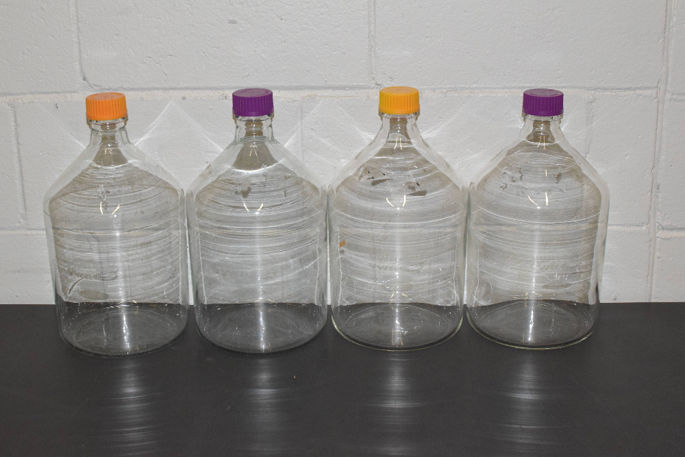 Lot of (4) VWR 5000ml Bottles