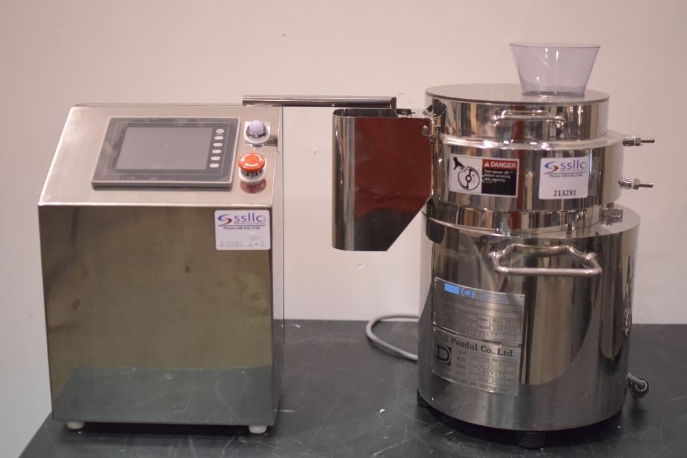 Fuji Paudal MG-55-1 Lab Extruder and Marumerizer QJ-230 lab Spheronizer