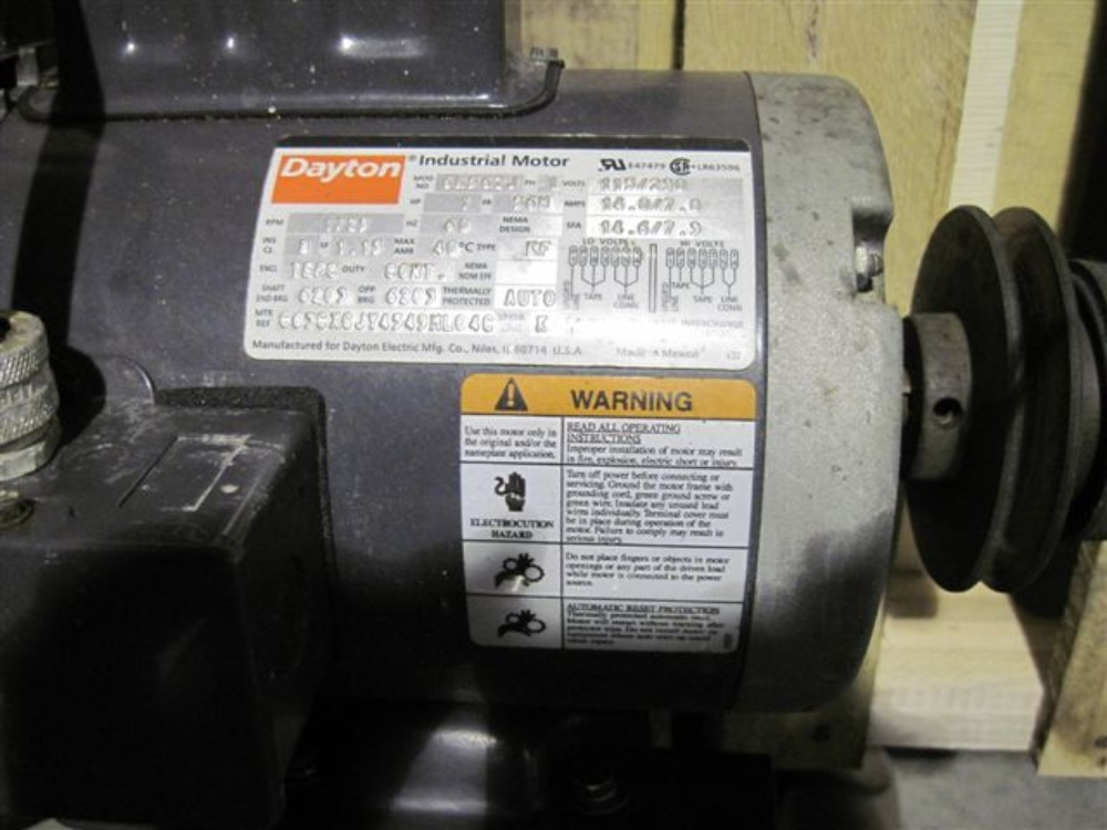 Dayton electric motor for Who makes dayton motors
