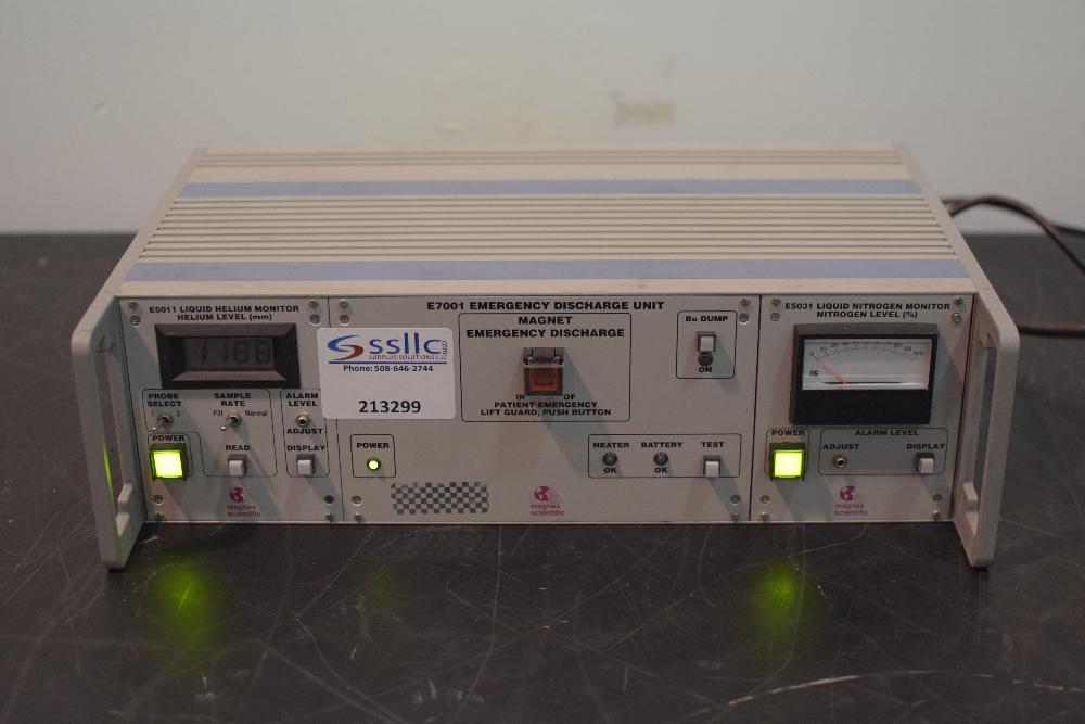 E5011 Liquid Helium Monitor/E7001 Emergency Discharge Unit/E5031 Liquid Nitrogen