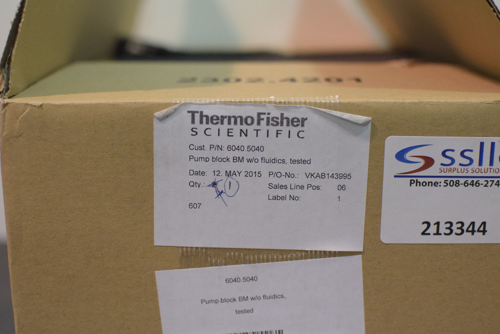Thermo Fisher Pump Block without Fluidics