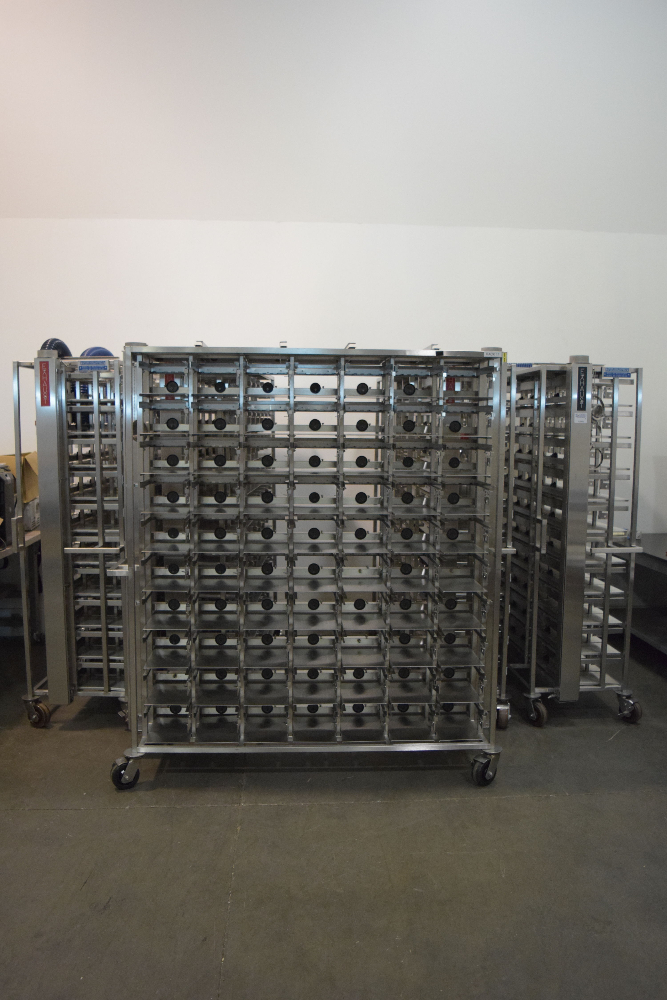 Lot of (5) Allentown Ventiliated Mouse Racks
