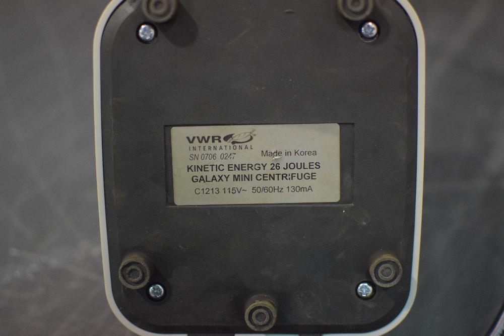 VWR  C1213 Galaxy Mini Centrifuge