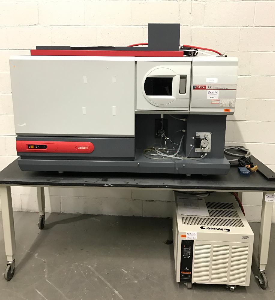 Varian Visat AX CCD Simultaneous ICP-AES System