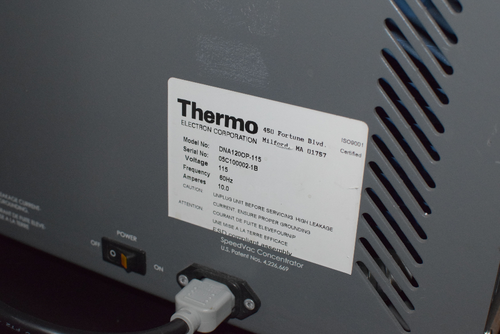 Thermo Scientific DNA-1200P-115 Speed Vac Concentrator
