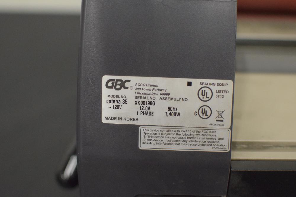 GBC Catena35 Thermal Film Laminator