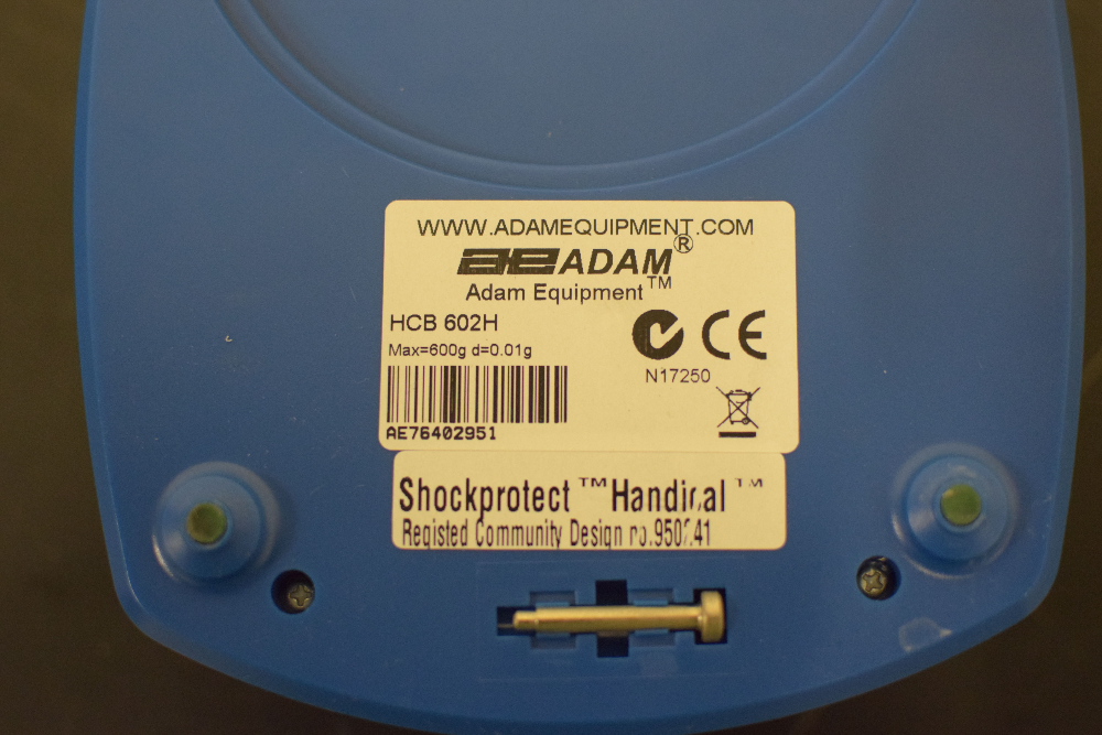 Adam Equipment HCB602H Digital Scale