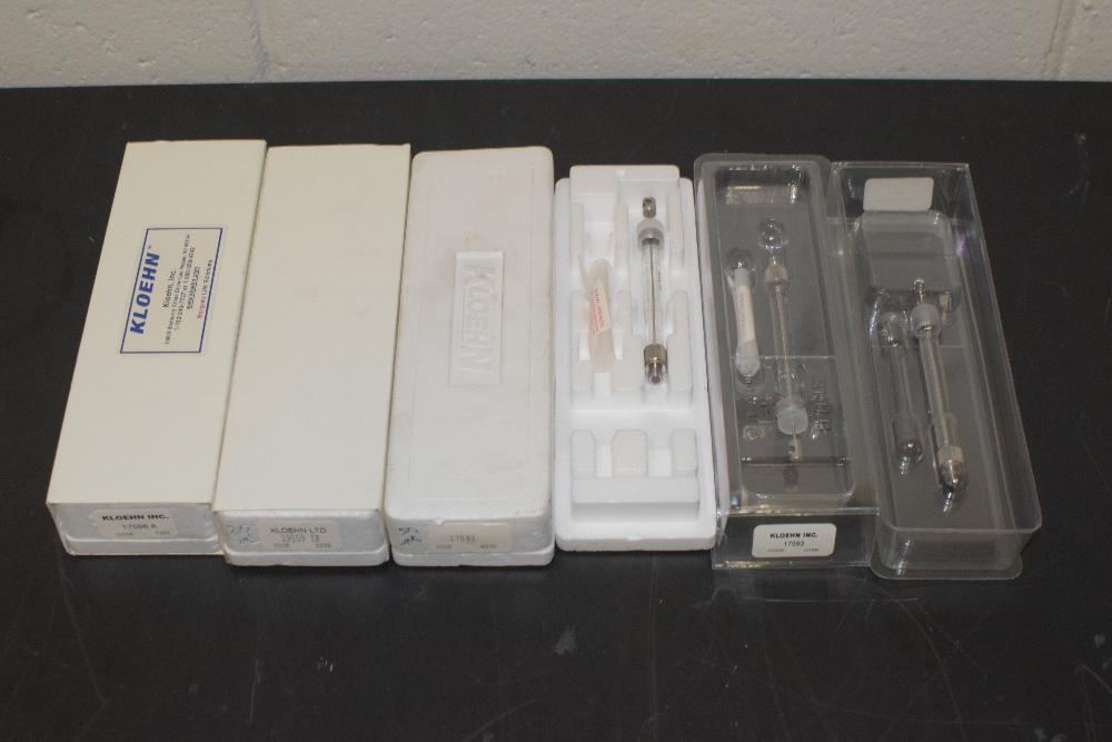 Lot of (6) Kloehn Box of Syringes