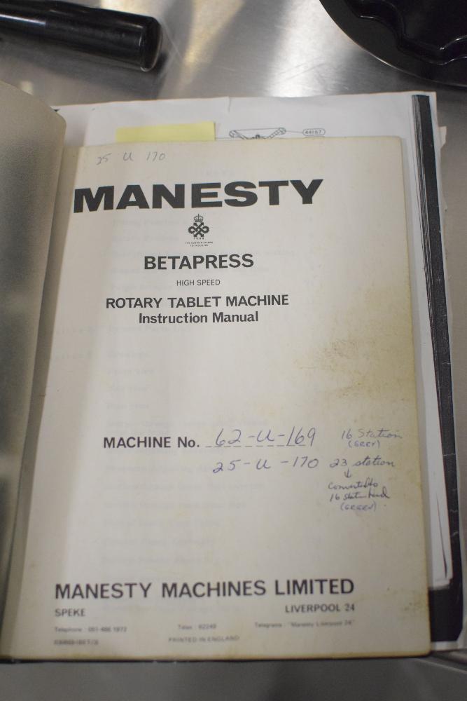 Manesty Betapress