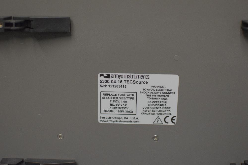 Arroyo Instruments 5300 Series Temperature Controller