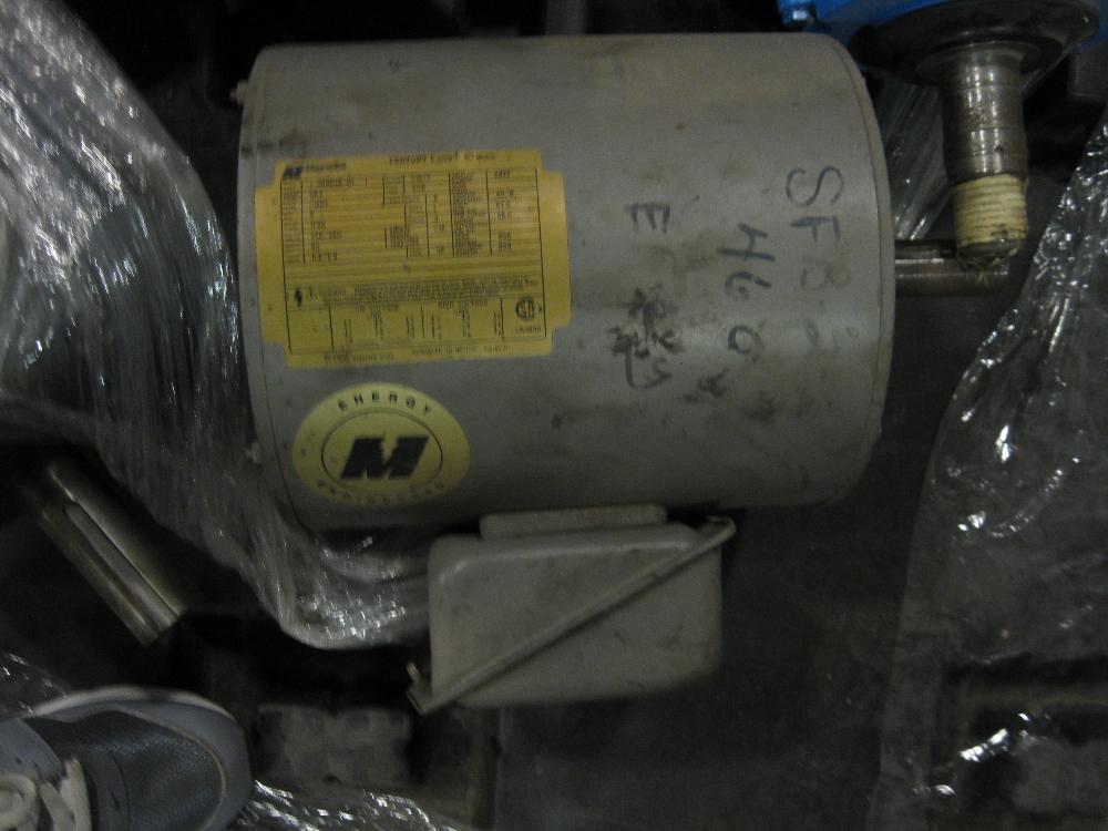 MagneTek Century E-plus 5HP E184T AC Motor