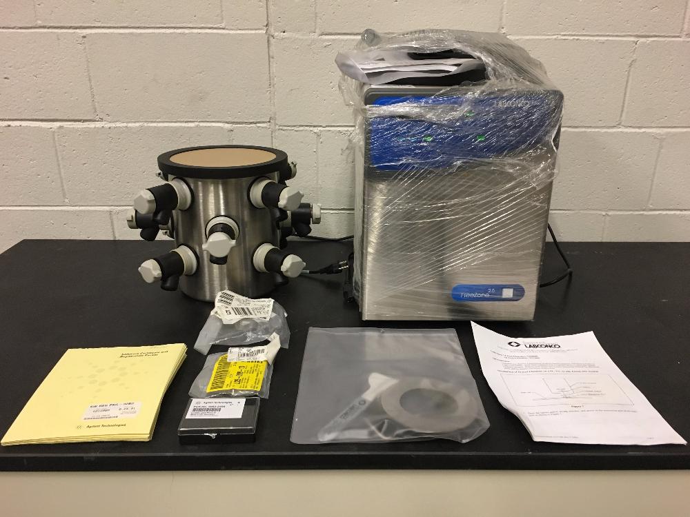 Unused Labconco FreeZone 2.5 Liter Freeze Dry System