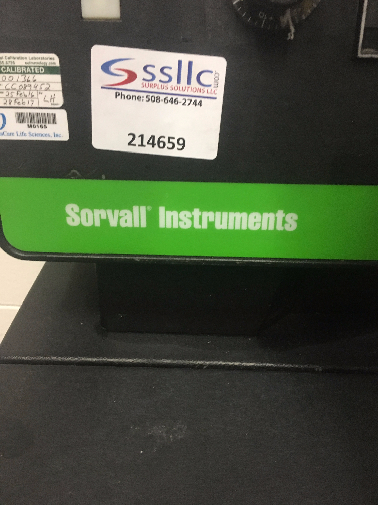 Sorvall Instruments RC-3B Refrigerated Centrifuge