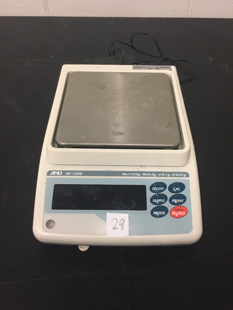 AND GF-1200 Digital Scale