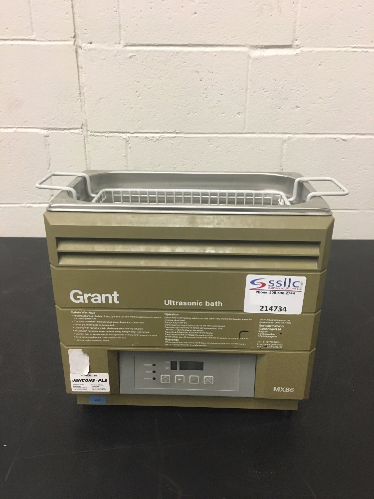 Grant MXB6 Ultrasonic Bath