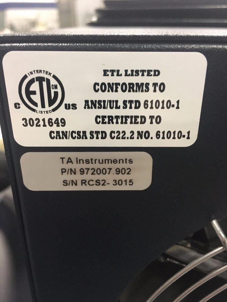 TA Instruments Q50 Thermal Gravimetric Analyzer and Q20 DSC