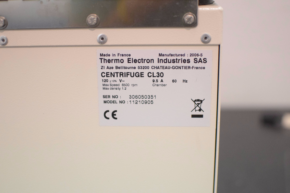 Thermo IEC CL30 Centrifuge
