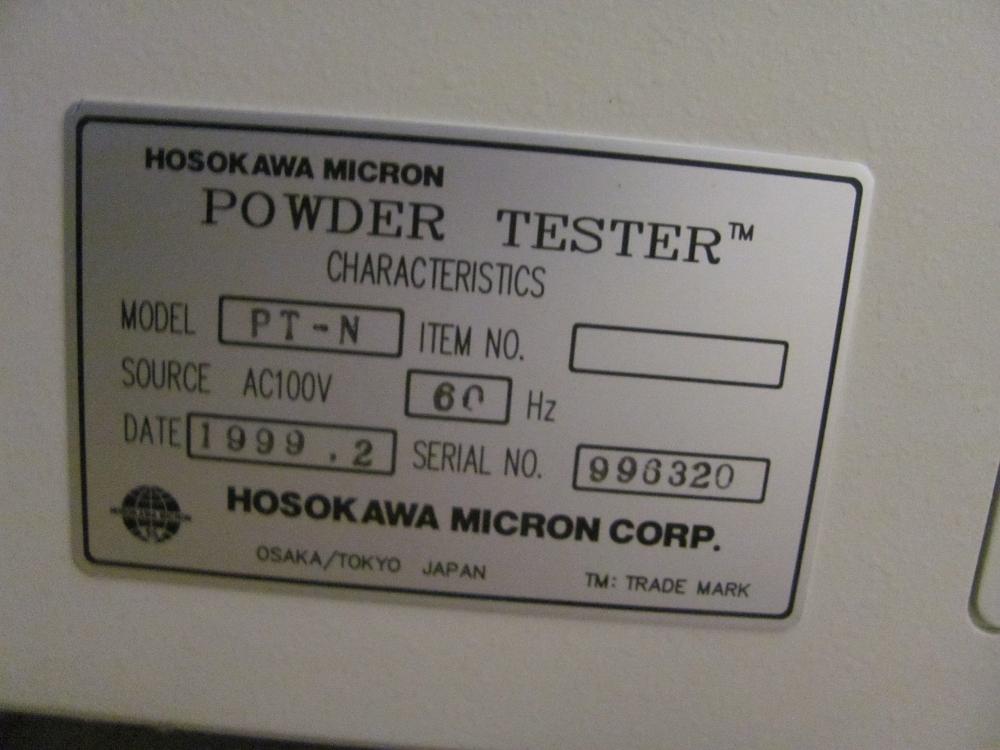 Hosokawa Micron Powder Tester