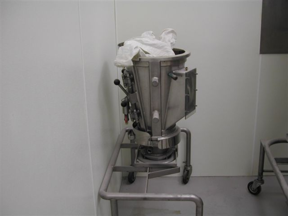 Glatt WSG 5 Fluid Bed Dryer
