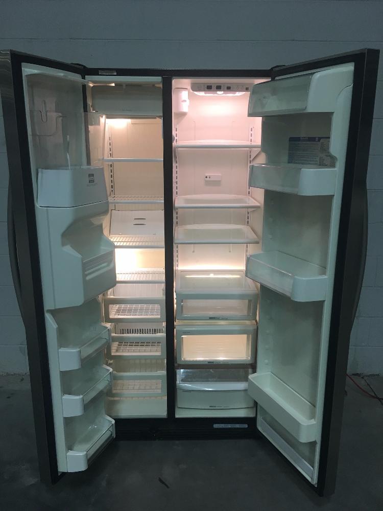 Kitchenaid Refrigerator Superba model kscs25inss00 superba household refrigerator