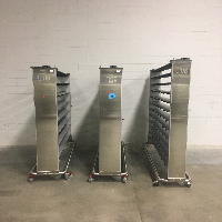 Lot of (3) Innovive Ventilated Mouse Racks