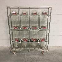 Techniplast Mouse Rack Assembly