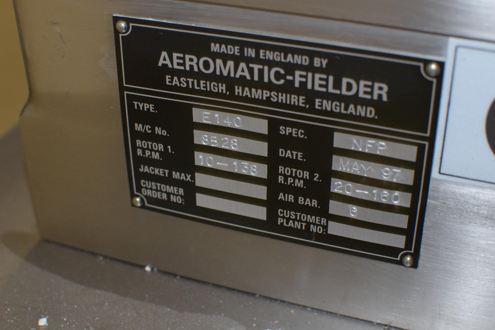 Aeromatic Fielder Granulation Suite