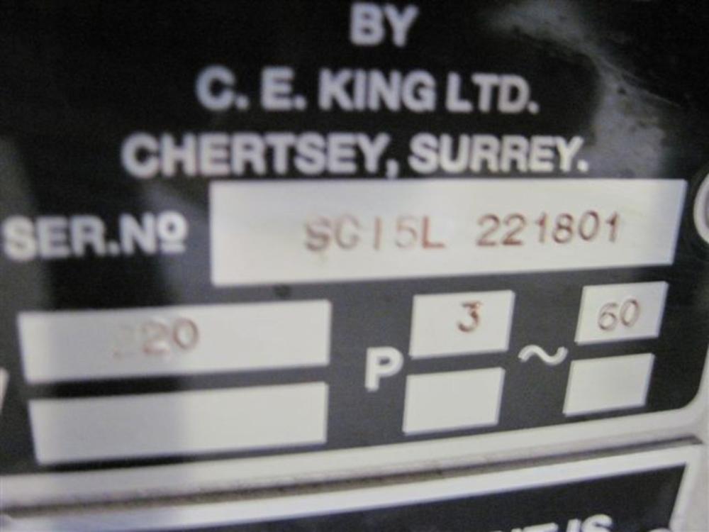 King SC15L Slat Counter