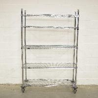 3' Stainless Steel Metro Rack
