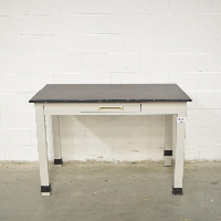 3' Black Slate Top Lab Table