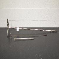 Lot of (3) Agitator Blades