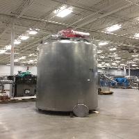 Walker CWBT 3000 Gallon Jacketed Stainless Steel Tank
