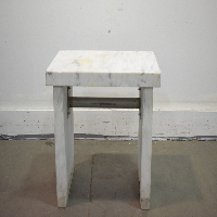 3 Ft Marble Balance Table