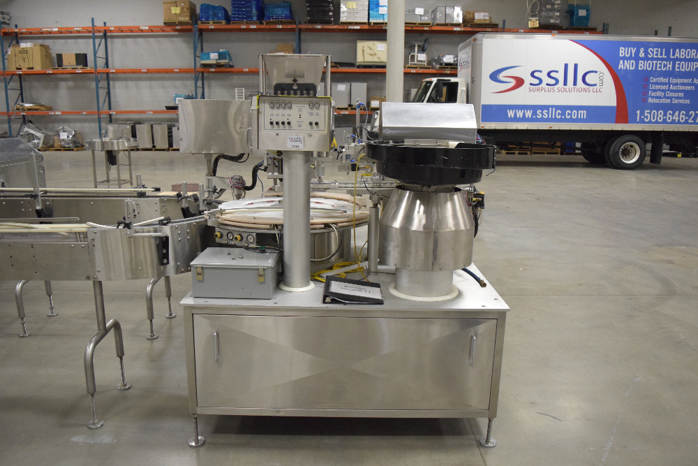 Kalish Monocount Tablet and Bottle Filling Line