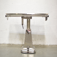 5' Adjustable Stainless Steel Operating Table