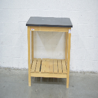 3' Stationary Wood Table