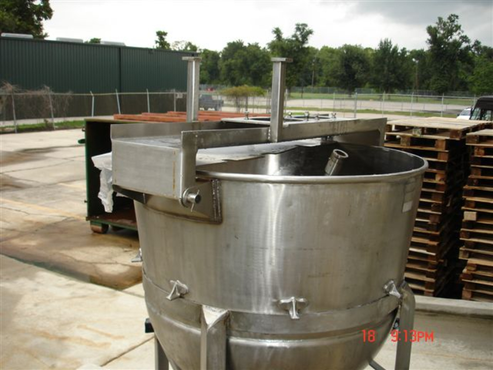 Jacketed Kettle (250 Gallon)