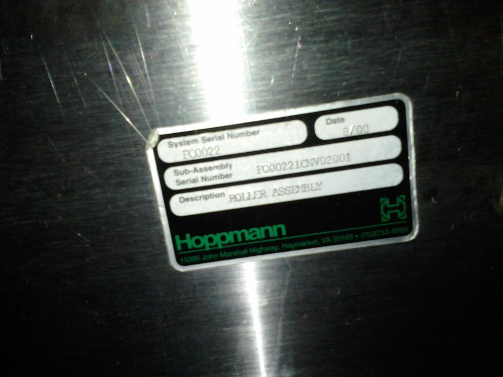 Hoppmann WEP-80 Prefeeder with Elevator